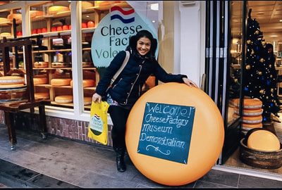 What to do in amsterdam volendam cheese factory